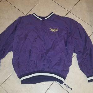 Vtg baltimore ravens pullover starter jacket